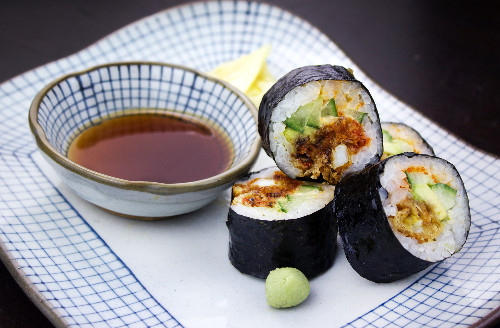 Sushi delivery in London